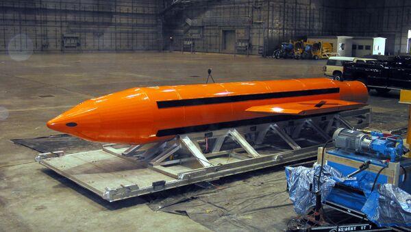 GBU-43/B Massive Ordnance Air Blast - Sputnik Mundo