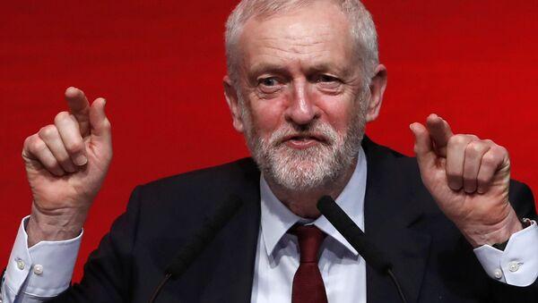 El líder laborista, Jeremy Corbyn (archivo) - Sputnik Mundo