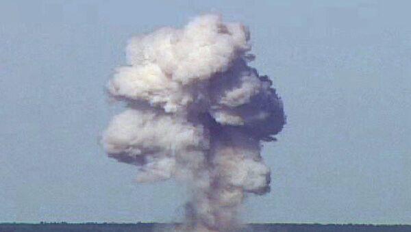 Ensayo de una bomba GBU-43/B de EEUU - Sputnik Mundo