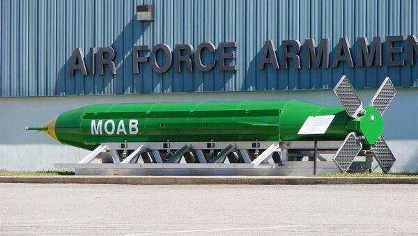 The GBU-43/B MOAB - Sputnik Mundo