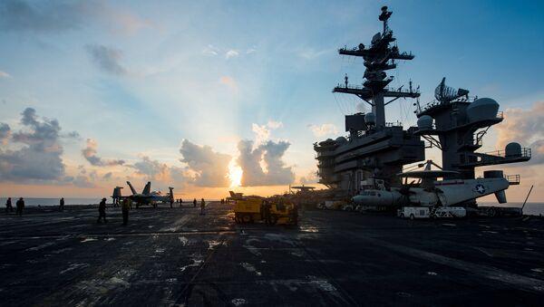 USS Carl Vinson de la Armada de EEUU - Sputnik Mundo