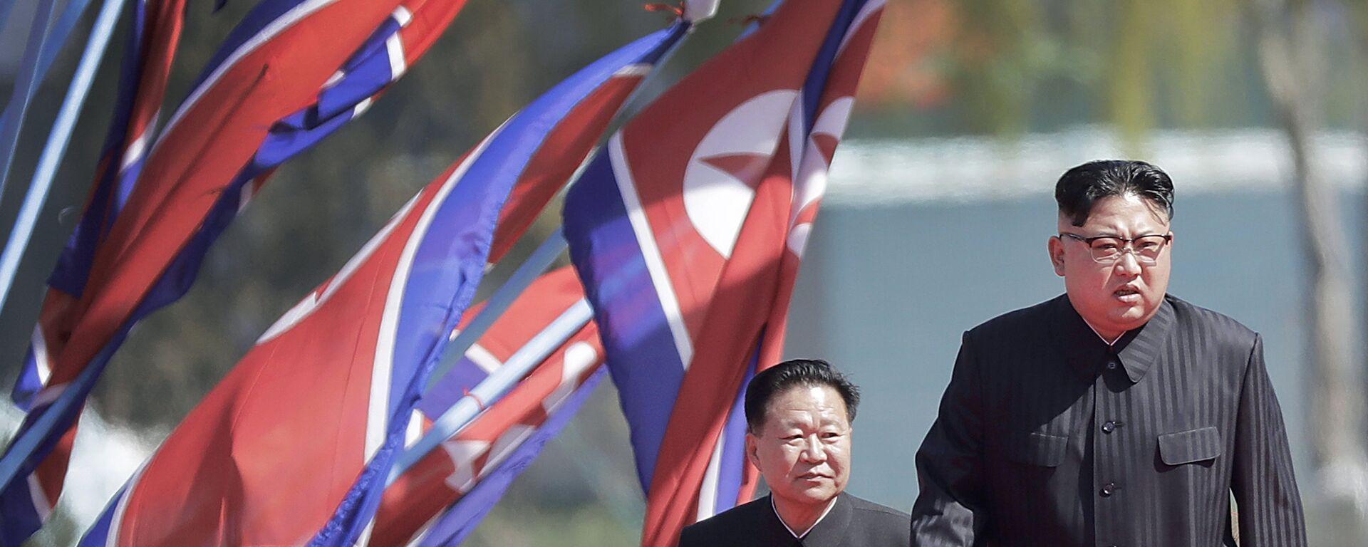 Kim Jong-un, líder de Corea del Norte - Sputnik Mundo, 1920, 29.09.2021