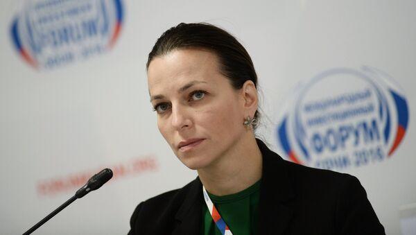 Rectora de la Universidad Estatal Social de Rusia, Natalia Pochinok (archivo) - Sputnik Mundo