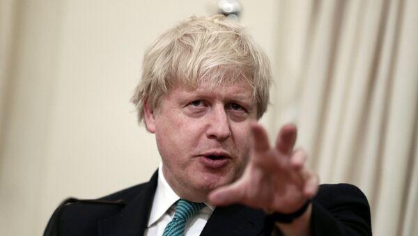 Boris Johnson, ministro de Exteriores del Reino Unido (archivo) - Sputnik Mundo