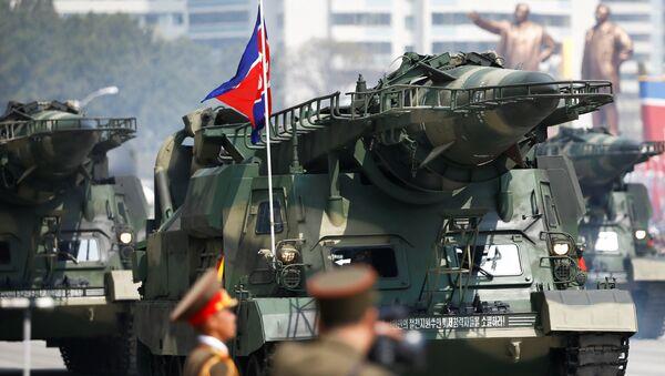 Desfile militar en Corea del Norte (Archivo) - Sputnik Mundo