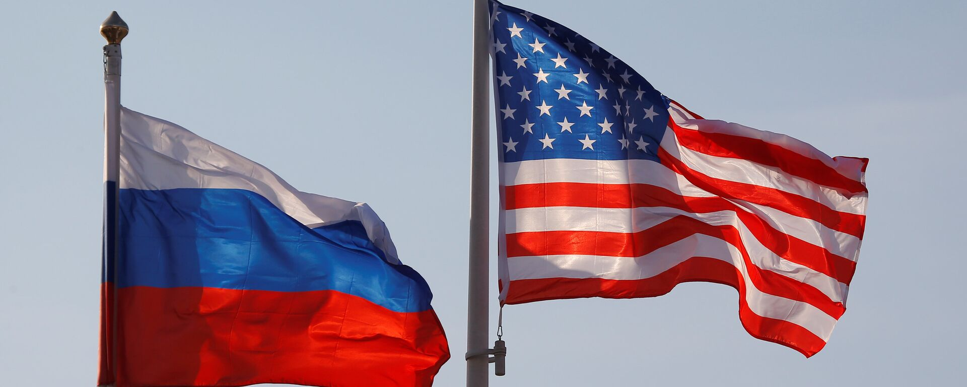 Banderas de Rusia y EEUU - Sputnik Mundo, 1920, 28.05.2021