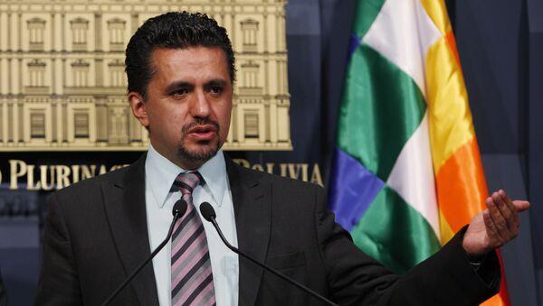 Sacha Llorenti, representante de Bolivia en el Consejo de Seguridad de la ONU - Sputnik Mundo
