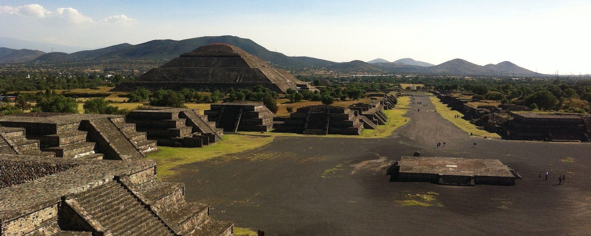 Teotihuacán - Sputnik Mundo, 1920, 23.09.2018