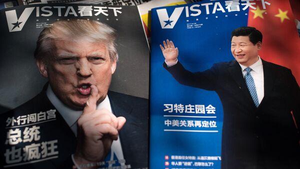 Los presidentes de China y EEUU, Xi Jinping y Donald Trump (archivo) - Sputnik Mundo