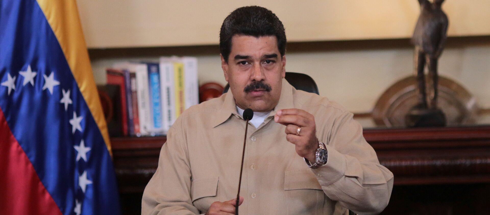 Nicolás Maduro, presidente de Venezuela - Sputnik Mundo, 1920, 03.09.2020