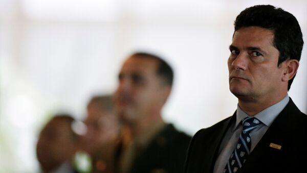 Sérgio Moro, juez - Sputnik Mundo