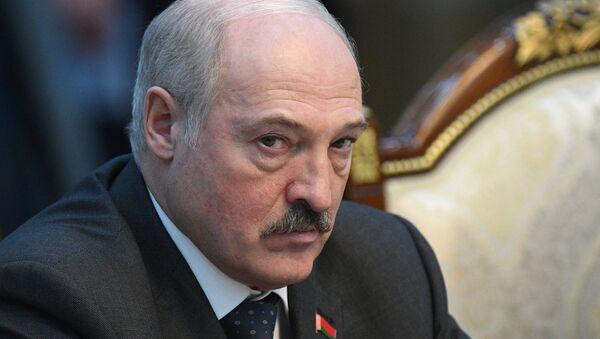 Alexandr Lukashenko, presidente de Bielorrusia (archivo) - Sputnik Mundo