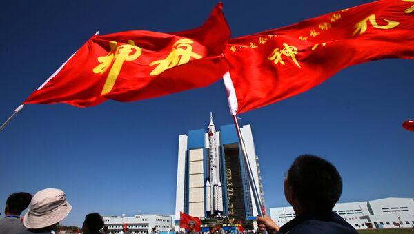 Jiuquan Satellite Launch Centre in northwest China's Gansu province - Sputnik Mundo