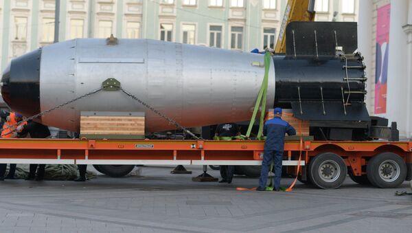 Tsar bomba arrives in Moscow - Sputnik Mundo