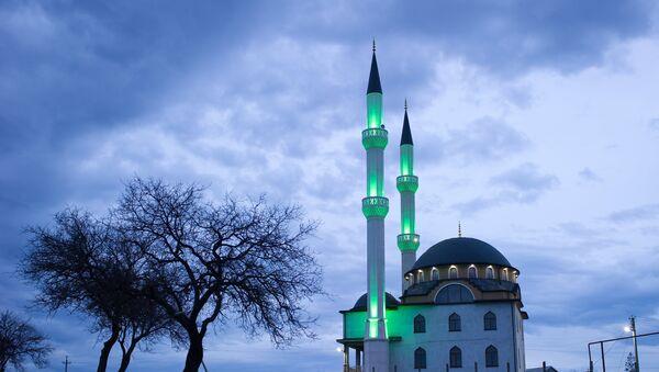 Una mezquita en Crimea (Archivo) - Sputnik Mundo