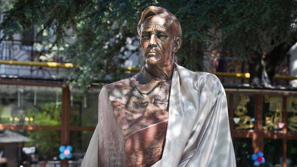 La ceremonia de la inauguración del monumento al 32º presidente de Estados Unidos, Franklin D. Roosevelt, en Yalta, Crimea - Sputnik Mundo