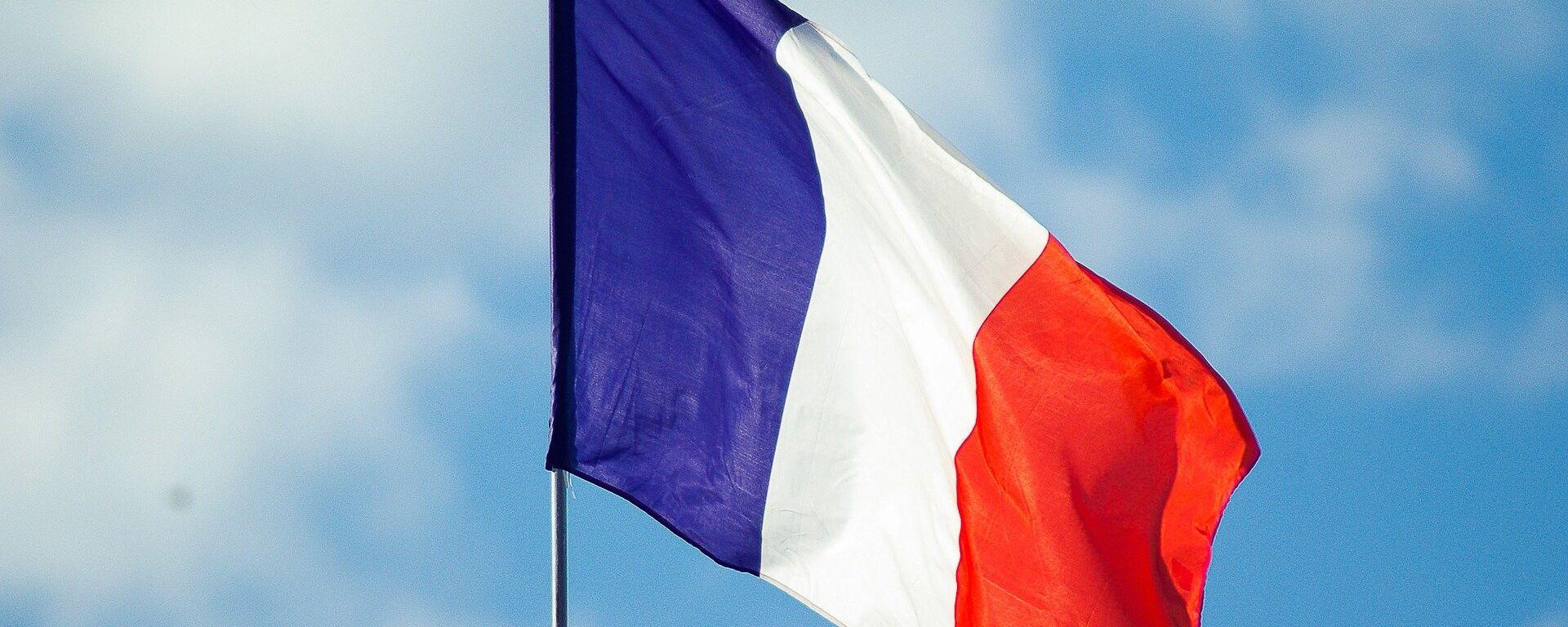 Bandera de Francia - Sputnik Mundo, 1920, 11.02.2021