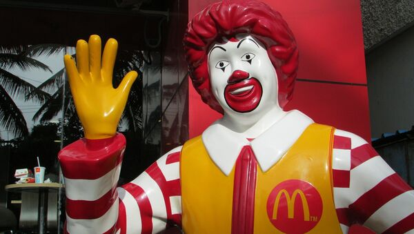 Ronald McDonald, la mascota oficial de McDonald's - Sputnik Mundo