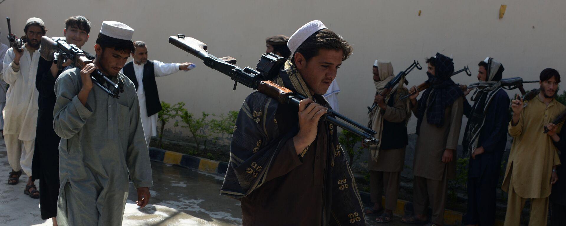 Talibanes afganos (archivo) - Sputnik Mundo, 1920, 02.08.2021