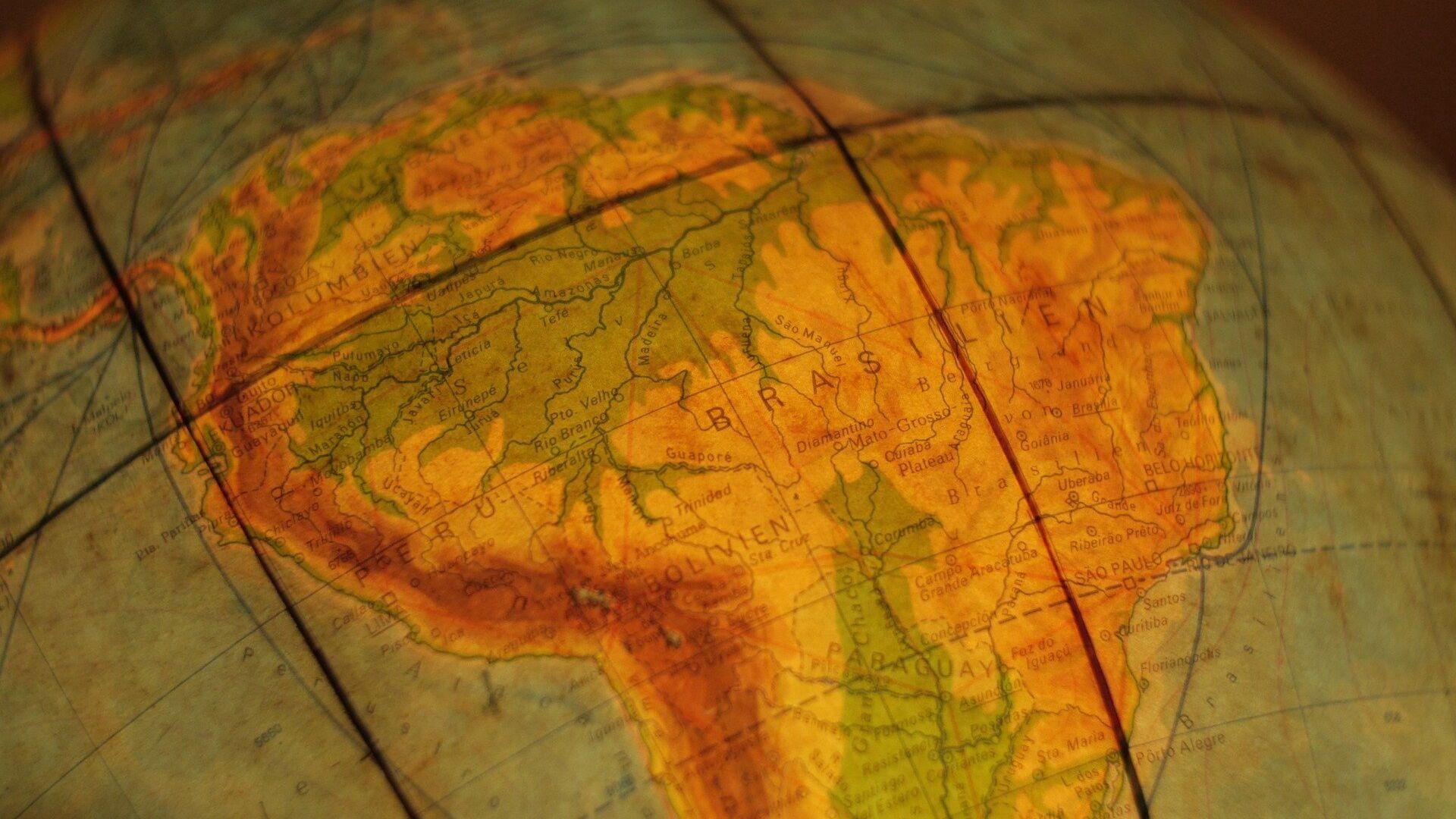 Mapa de América Latina - Sputnik Mundo, 1920, 21.09.2021