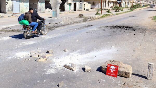 Ataque químico en Jan Sheijun, Idlib - Sputnik Mundo