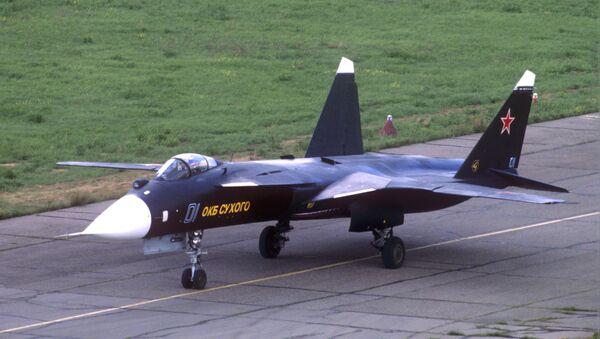 El caza experimental Su-47 Berkut - Sputnik Mundo