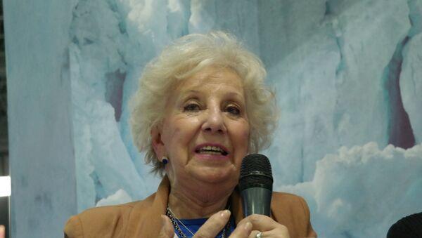 Estela de Carlotto, presidenta de Abuelas de Plaza de Mayo - Sputnik Mundo