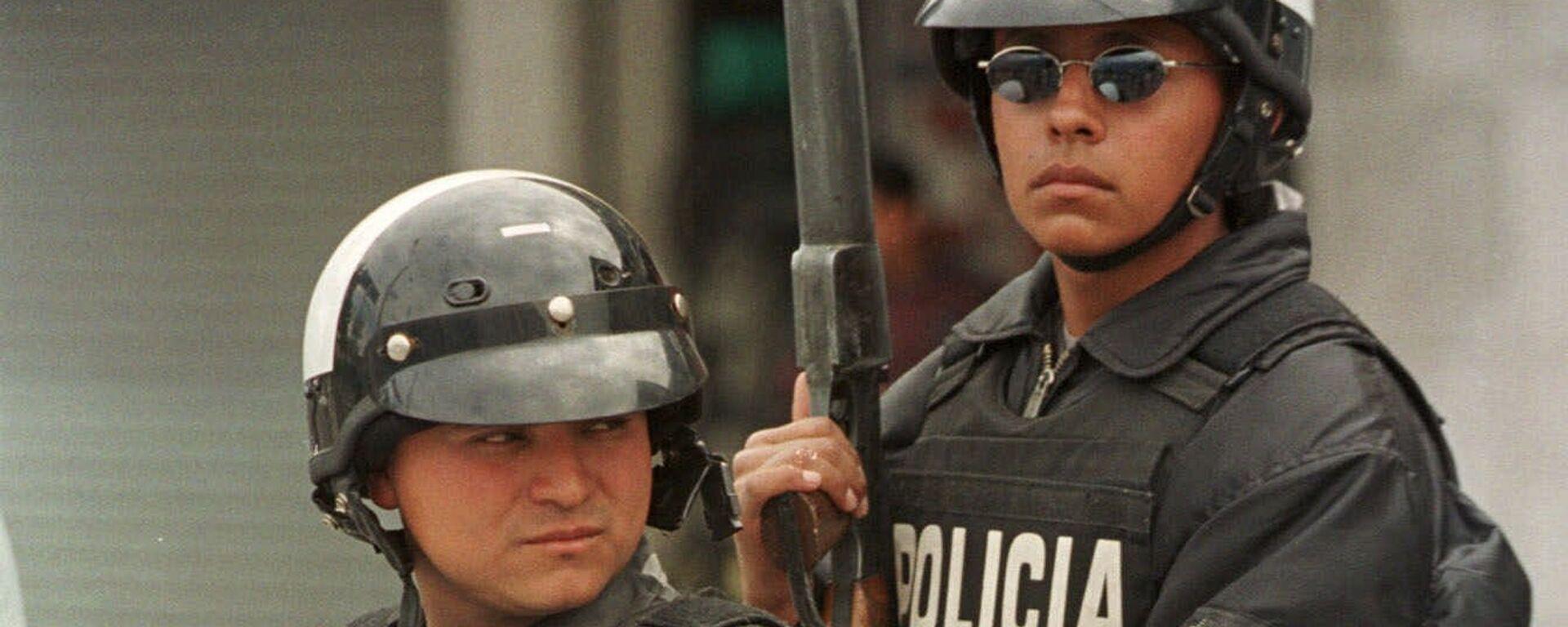 Policía de Ecuador (archivo) - Sputnik Mundo, 1920, 15.09.2021