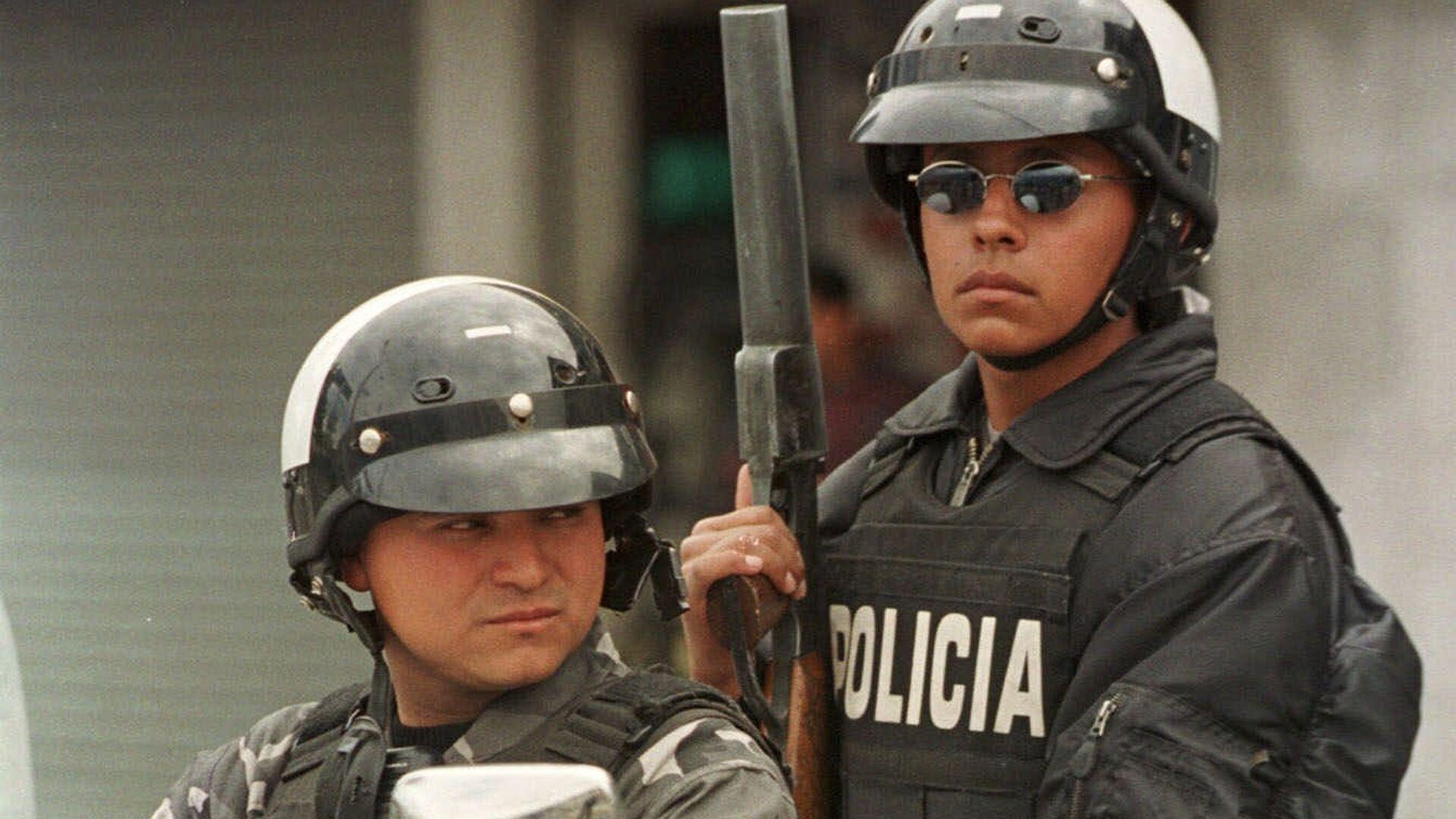 Policía de Ecuador (archivo) - Sputnik Mundo, 1920, 16.08.2021