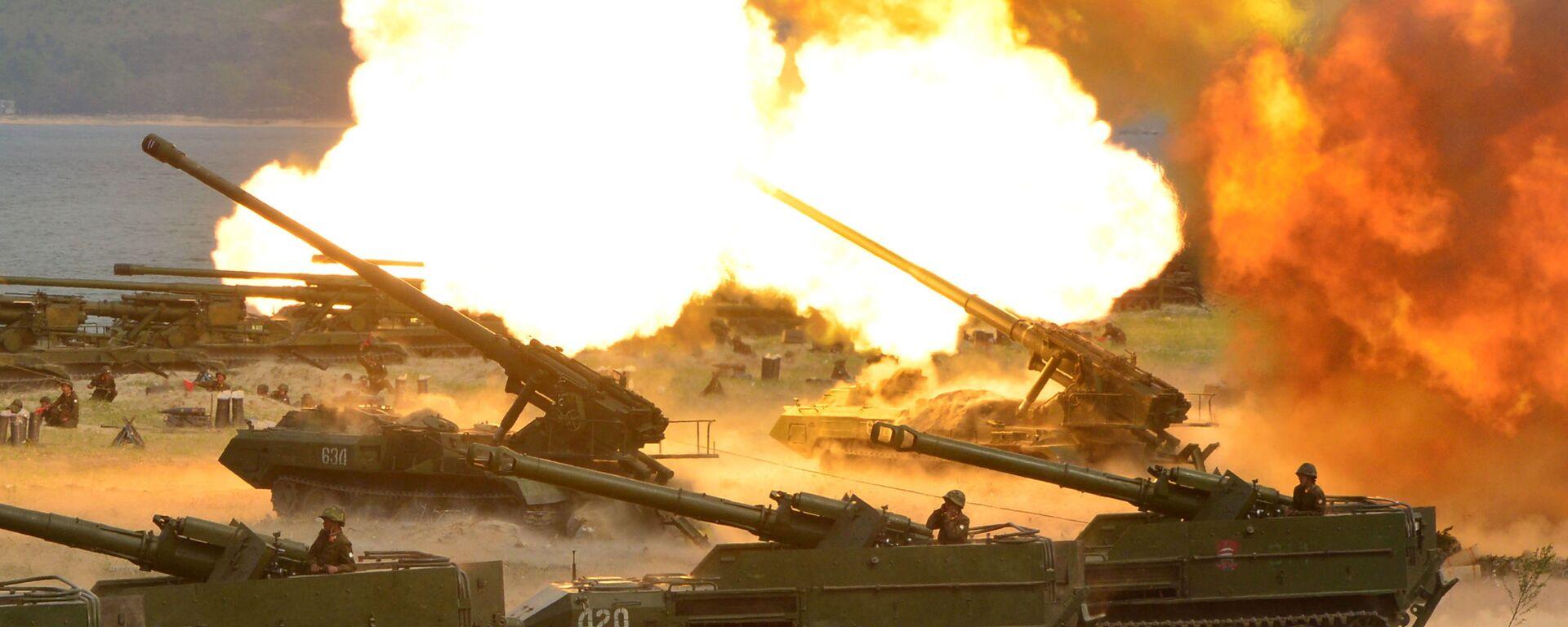 La artillería de Corea del Norte - Sputnik Mundo, 1920, 29.06.2021