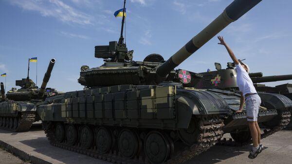 Los tanques T-64BV - Sputnik Mundo