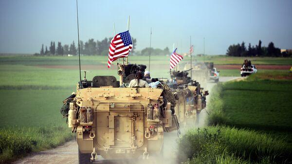 Las fuerzas de EEUU en Siria - Sputnik Mundo