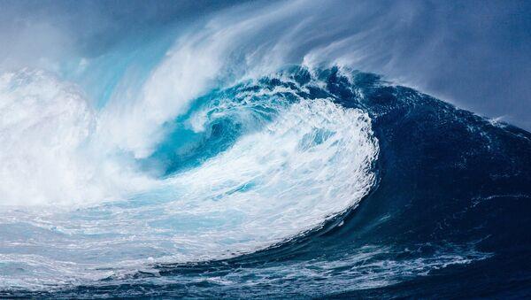 Un tsunami (Archivo) - Sputnik Mundo