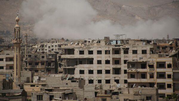 El barrio de Kabun, al este de Damasco - Sputnik Mundo