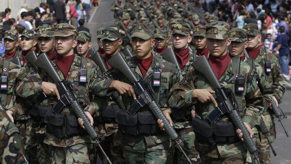 Soldados del Ejército de Paraguay (archivo) - Sputnik Mundo
