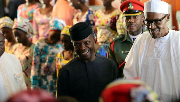Muhammadu Buhari, presidente de Nigeria (archivo) - Sputnik Mundo