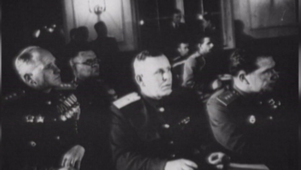 Firma del acta de capitulación alemana - Sputnik Mundo