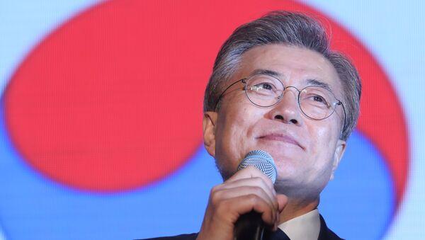 Moon Jae-in, presidente electo de Corea del Sur - Sputnik Mundo