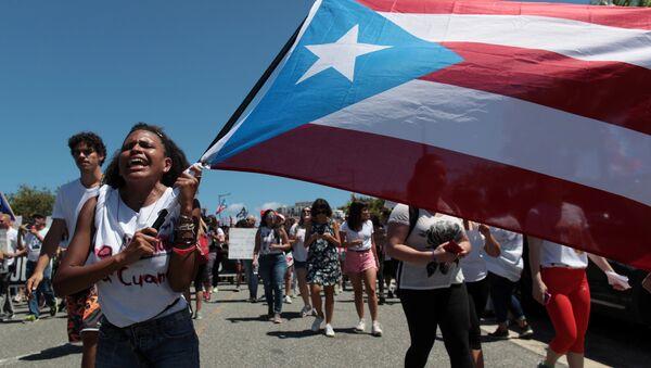 Estudiantes de la Universidad de Puerto Rico (UPR) - Sputnik Mundo