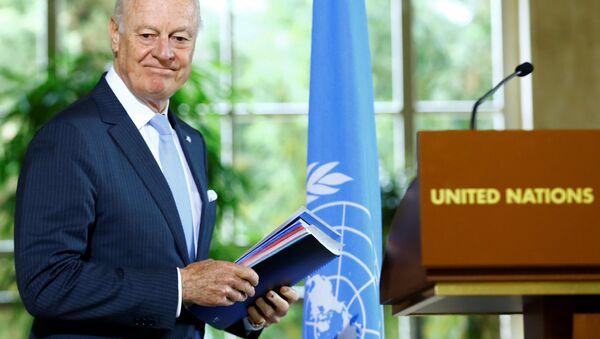 Staffan de Mistura, el enviado de la ONU para Siria - Sputnik Mundo