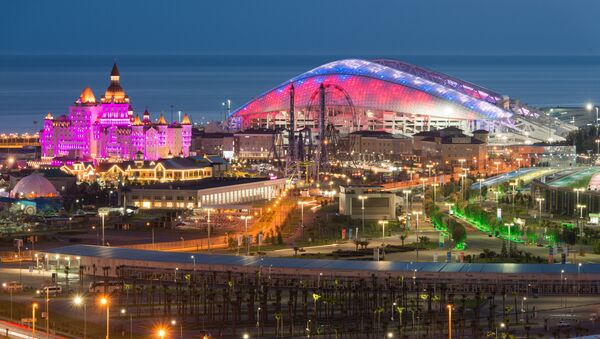 El estadio Fisht en Sochi - Sputnik Mundo