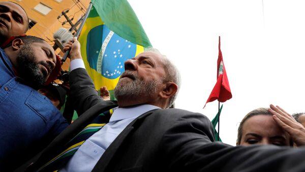Luiz Inácio Lula da Silva, expresidente brasileño - Sputnik Mundo