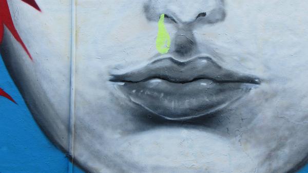 Los mocos (grafiti) - Sputnik Mundo