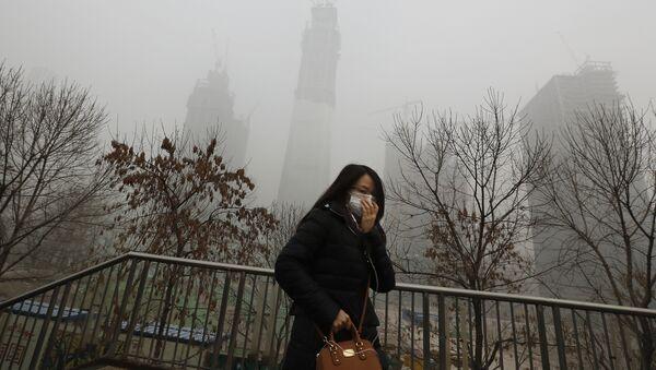 Pekín, una de las ciudades más contaminadas de China y del planeta - Sputnik Mundo