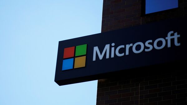 Logo de Microsoft - Sputnik Mundo