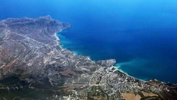 La ciudad de Sudak en la península de Crimea - Sputnik Mundo