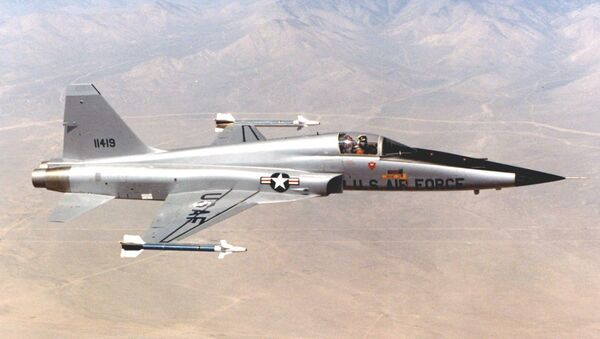 Un F-5E Tiger II (archivo) - Sputnik Mundo
