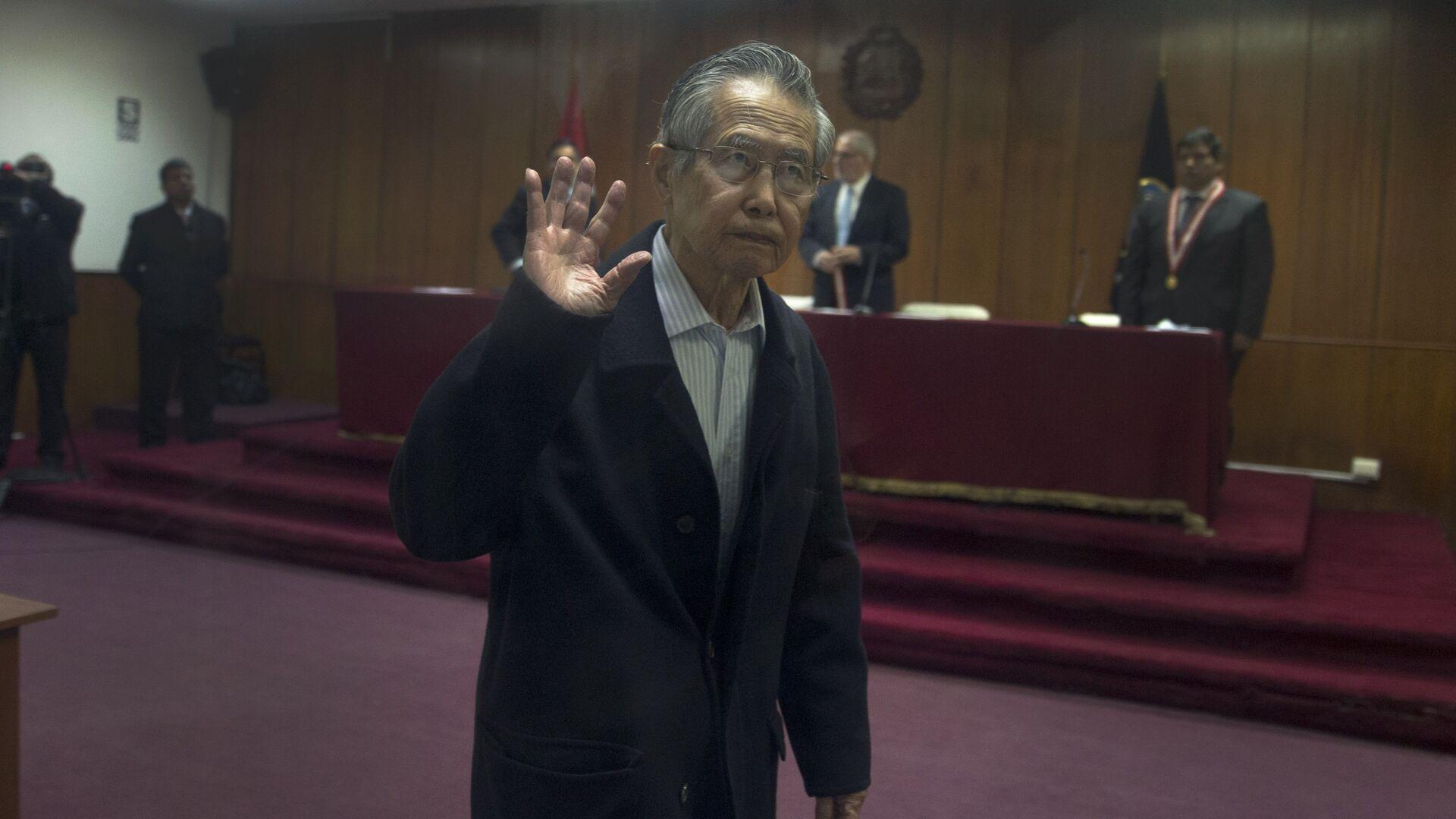 Alberto Fujimori, expresidente de Perú - Sputnik Mundo, 1920, 30.09.2021