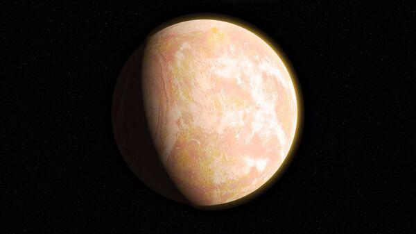 Ilústración gráfica de un exoplaneta - Sputnik Mundo