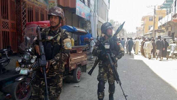 Las fuerzas seguridad de Afganistán en Jalalabad - Sputnik Mundo